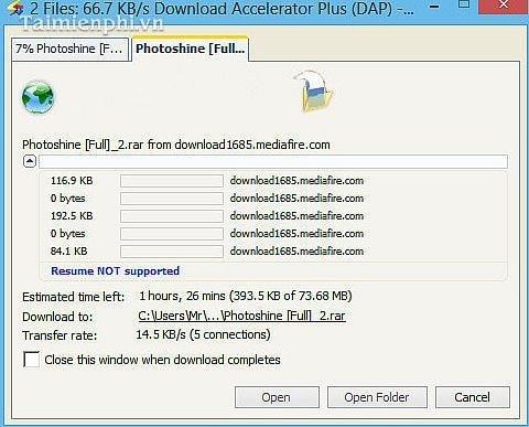 Hướng dẫn download, tải Video bằng Download Accelerator Plus