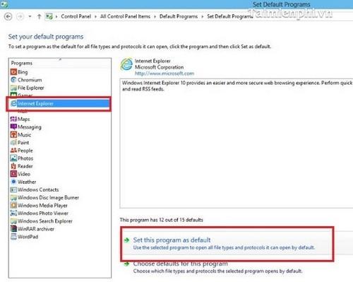 Sửa lỗi mất giao diện Modern UI trên Internet Explorer 11, IE 11