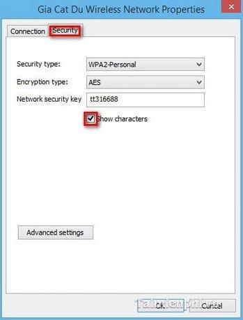 Wifi password management on Windows 8 / 8 1