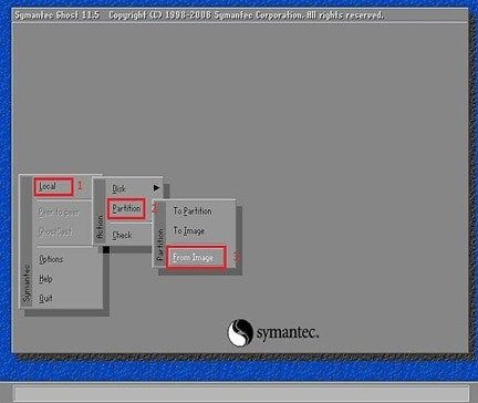 cach bung file ghost win 7