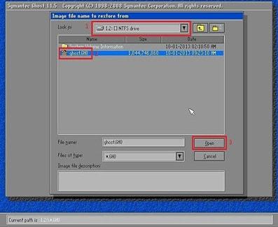 Cách bung file ghost win 7, 8, 10 không cần đĩa 4
