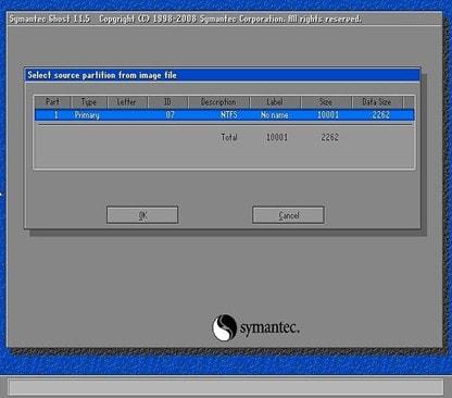 Cách bung file ghost win 7, 8, 10 không cần đĩa 5