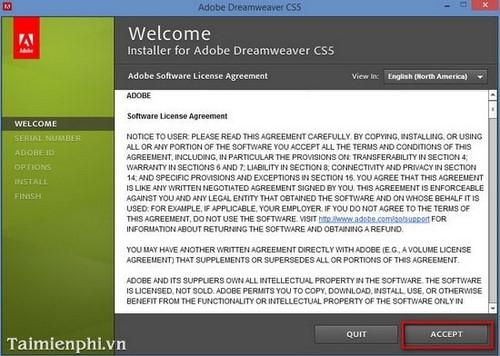 Hướng dẫn download, cài đặt Adobe dreamweaver thiết kế Web