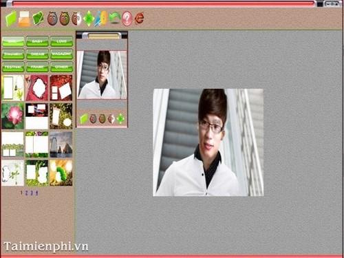 Chỉnh sửa, lồng ghép vào khung, thêm hiệu ứng ảnh với Photoshine trên máy tính