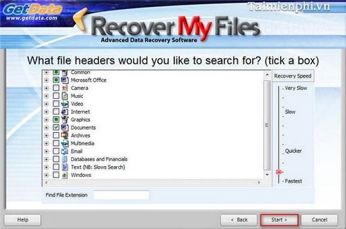 Recover My Files - Recover, recover lost data efficiently