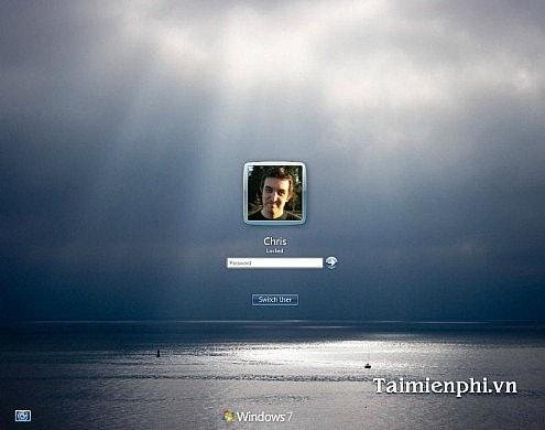 Thay đổi màn hình khởi động trên Windows 7 8