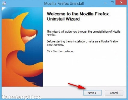 How to remove Firefox from your computer