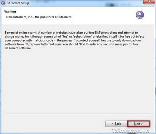 Cách cài BitTorrent, setup và sử dụng Bittorrent tải file torrent