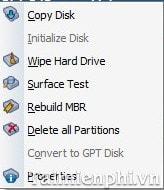 Chuyển đổi MBR sang GPT trên ổ cứng không mất dữ liệu với Aomei Partition Assistant 6