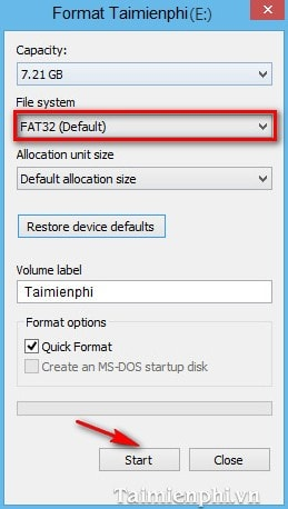 how to reformat external hard drive to fat32