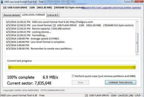 hdd low level format tool download free