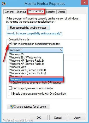 Fix, troubleshooting on Firefox