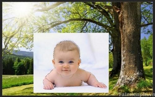 Photoshop - Cách làm người tàng hình
