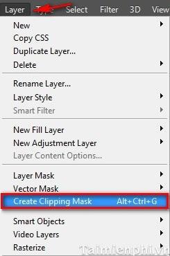 Photoshop - Lồng ghép hình ảnh vào trong chữ