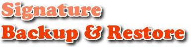 Sao lưu và phục hồi chữ ký trong Outlook 2013