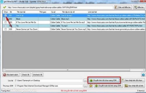 Tải Album nhạc trên Zing MP3, NhacSo, NhacCuaTui với GetNhacSo