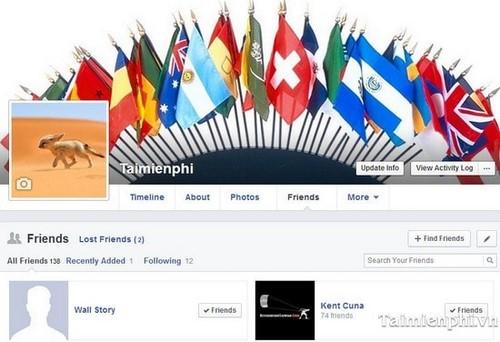 Facebook - Theo dõi những ai hủy kết bạn với bạn