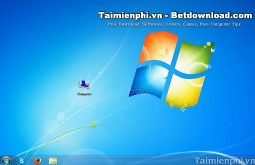 Cách hiển thị biểu tượng My Computer trên màn hình Windows 7 4