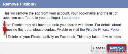 Facebook - Cách xóa ứng dụng rác trên Facebook