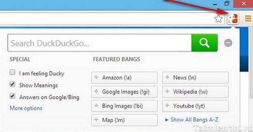 Ẩn lịch sử duyệt web trên Chrome, Firefox hiệu quả bằng DuckDuckGo