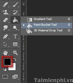 Chọn màu cho Brush trong Photoshop