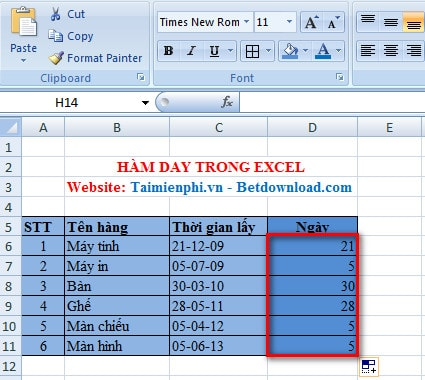 ... the DATE function in Excel to get a serial number representing a date
