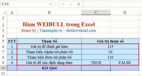 how to find alpha and beta for weibull distribution