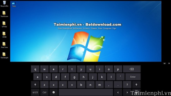 How to open the virtual keyboard on Windows XP / 7/8