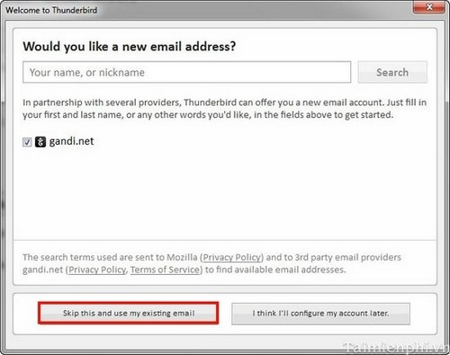Hướng dẫn sử dụng Thunderbird để check Gmail