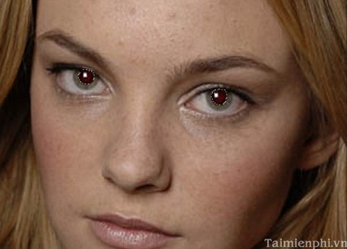 Cách sửa mắt đỏ bằng Photoshop