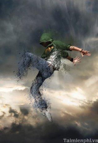 Photoshop - Tạo hiệu ứng người bị phân hủy