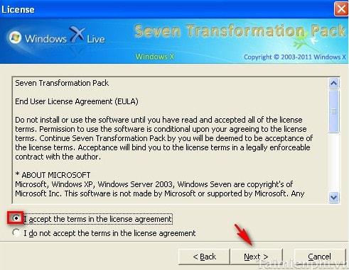 Thay đổi giao diện Windows XP thành Windows 7 2