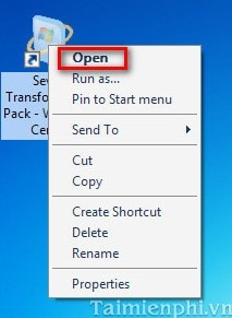 Thay đổi giao diện Windows XP thành Windows 7 9