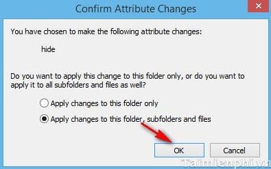 Ẩn, hiện thư mục, file trong Windows 7, 8, 8.1 trên máy tính 3