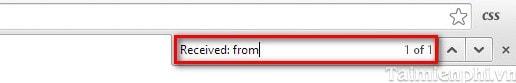 Tìm địa chỉ IP của người gửi Email