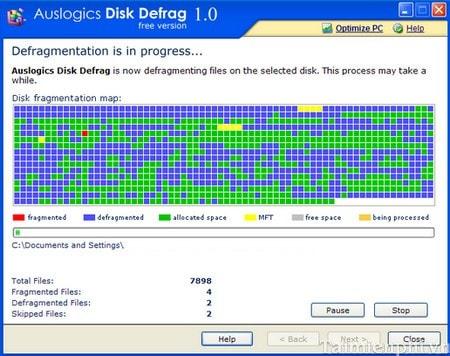 Top 5 phần mềm chống phân mảnh ổ cứng tốt nhất 4