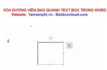 Word - Xóa đường viền bao quanh Text Box trong Word 12
