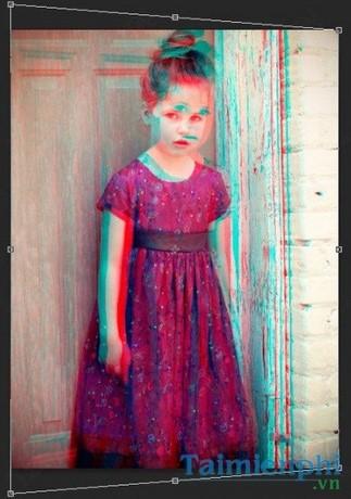 Biến ảnh chụp thành ảnh 3D bằng Photoshop
