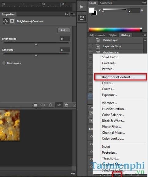 Photoshop - Blend ảnh với gam màu cam