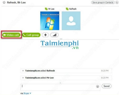 how to create a grp chat on skype