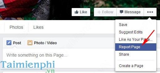 Hướng dẫn đóng dấu Facebook chính chủ