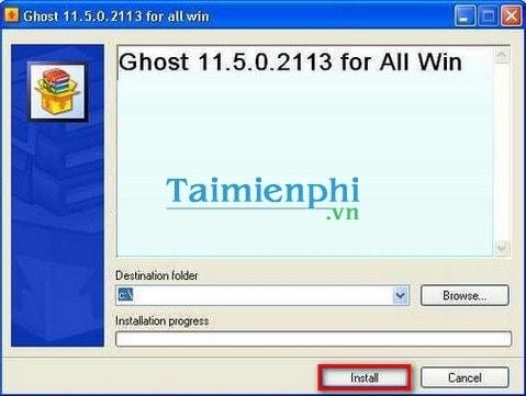 Cách Ghost Win XP không cần đĩa CD Boot, USB 2