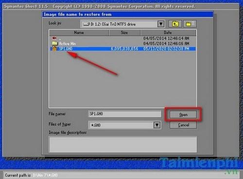 Cách Ghost Win XP không cần đĩa CD Boot, USB 9