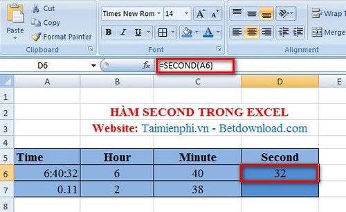 how to add seconds in excel formula