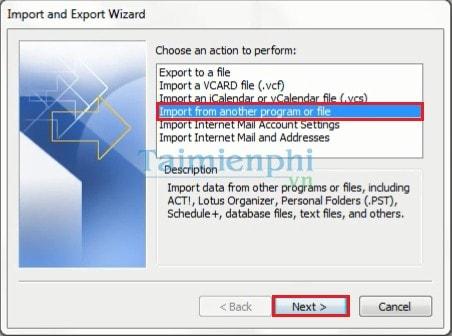 Hướng dẫn lưu và Backup Mail trong Outlook 2003