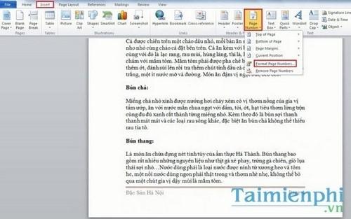 Cách tạo Header và Footer đẹp trong Word 2010 26