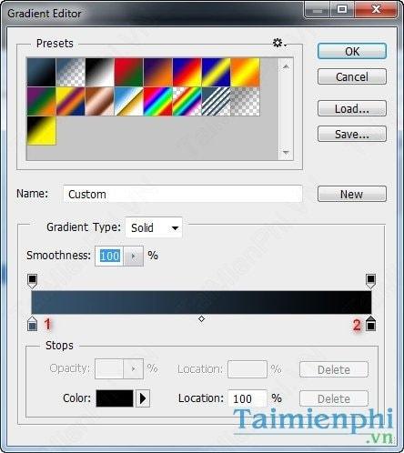 Làm hiệu ứng ánh sáng chuyển động trong Photoshop
