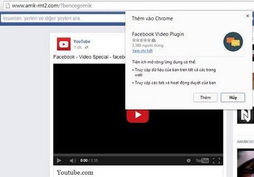 Phát hiện Virus lây lan qua Facebook Messenger