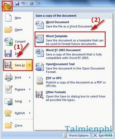 word 2010 template file location - h ng d n t o m u template t y trong word 2007 2010