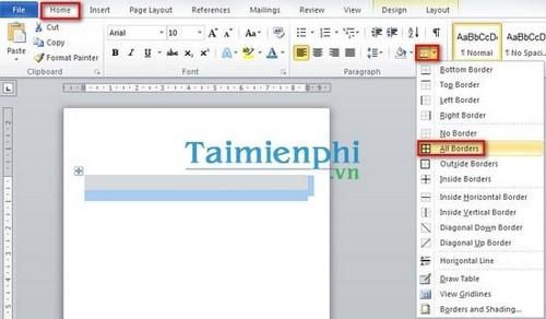 Hướng dẫn cách tạo nhãn thư trong Word 2010